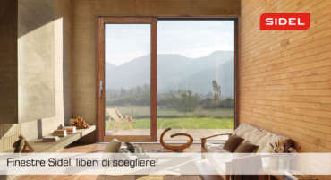 Finestre in legno Sidel, finestre per la vita dal 1950.