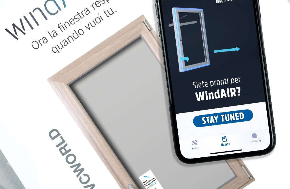WindAIR la nuova finestra di Oknoplast